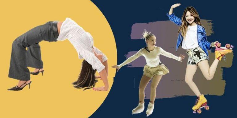 an outline of flexibility for each skater