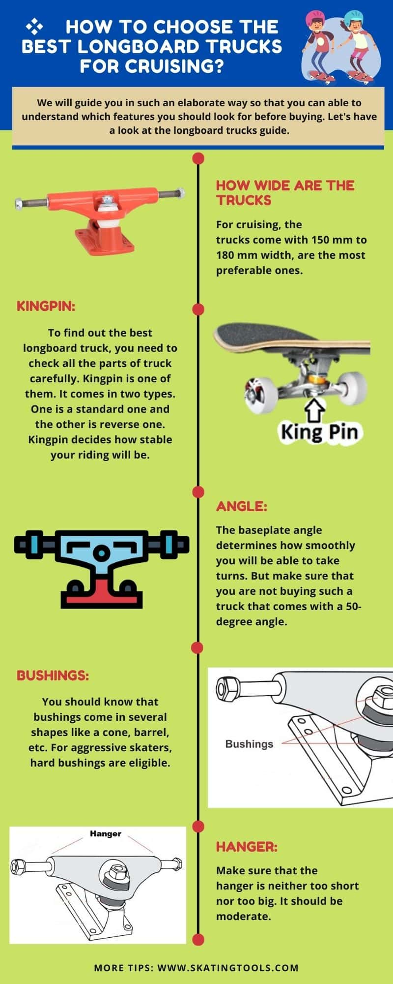 how to choose the best longboard trucks for cruising