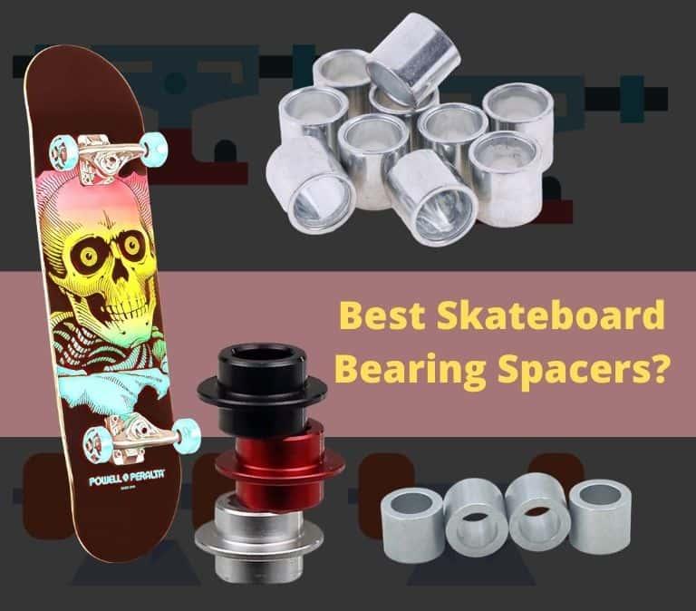 skateboard bearing spacers