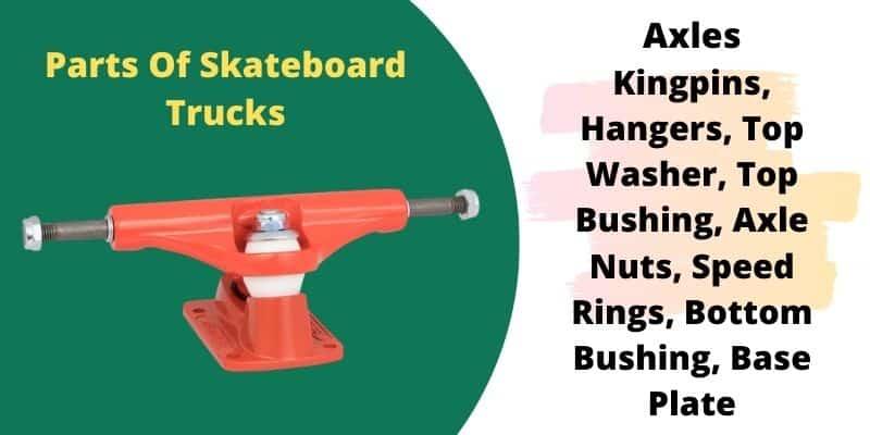 skateboard trucks parts