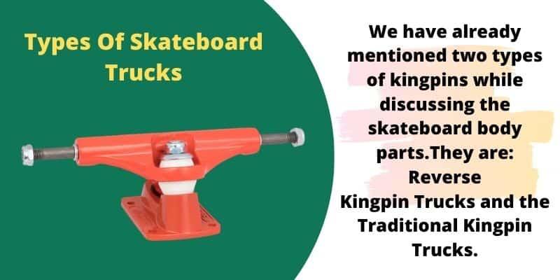 types of longboard trucks