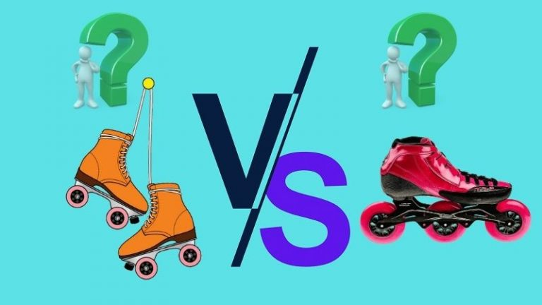 difference between roller skates and rollerblades