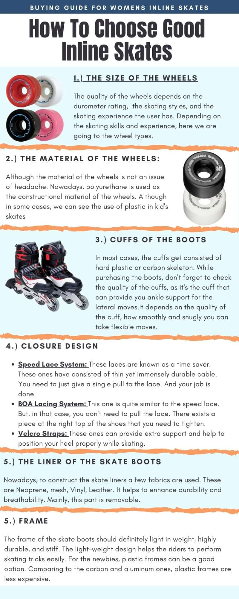 Buying Guide for Womens Inline Skates