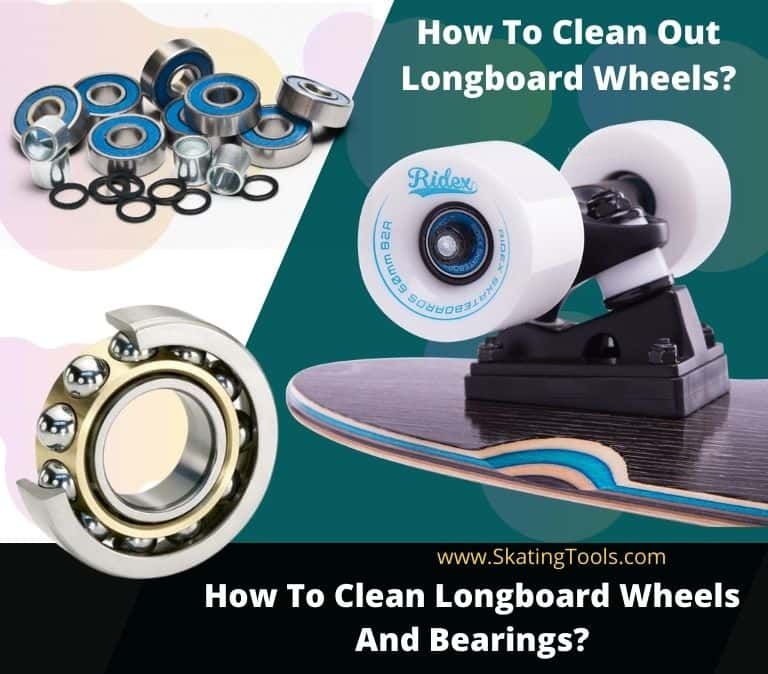 how to clean longboard wheels