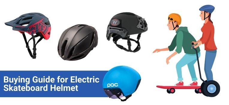 Choose the Right Electric Skateboard Helmet