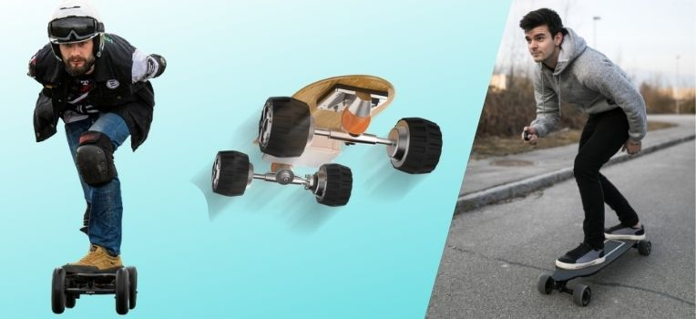 what are electric skateboards